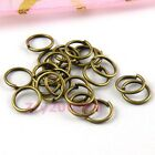 Antiqued Bronze Open Jump Rings Connectors 4mm,5mm,6mm,7mm,8mm,20mm R0004