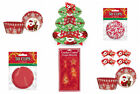 CHRISTMAS PARTY BAKING  COOKIE CUTTERS CUPCAKE CASES MUFFIN STAND CUP CAKE KIT