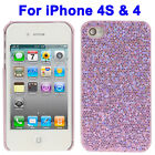 Ultra-thin Protective Plastic Shell Case for Apple iPhone 4 / 4S Mobile Phone
