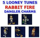 LOONEY TUNES RABBIT FIRE FIGURE - DANGLER CHARM ORNAMENT -  YOU PICK ONE!