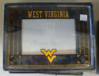 West Virginia - Art Glass Picture Frame--NEW in BOX--NCAA licensed School LOGO