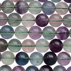 "4,6 & 8mm ROUND GEMSTONE Beads 15"" strings  - MANY STONES TO CHOOSE!."