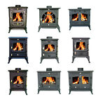 New Cast Iron Log Burner MultiFuel Wood Burning Stove WoodBurner Multi Models