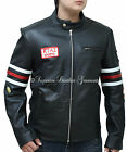 House MD Gregory House Black Biker Leather Jacket
