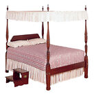 White Lace Bed Canopy Top - Twin and Full sizes  image