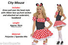 Adult Minnie Corset Style Mouse Fairy Tales Party Outfits Costume Fancy Dress