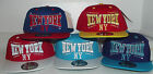 BRAND NEW FLAT PEAK VINTAGE NEW YORK (NY) KIDS SNAPBACK BASEBALL CAP WITH TAGS