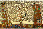 GUSTAV KLIMT. THE TREE OF LIFE . PICTURE ON FRAMED BOX-CANVAS