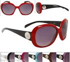 NEW D.E SUNGLASSES DESIGNER WOMENS LADIES GIRL LARGE BLACK VINTAGE UV400 G-114