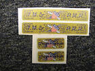 Sticker Set for Gilbert American Flyer Washington Loco
