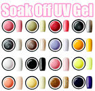 Nail Art UV Gel colour Soak off Polish UV lamp Glitter 15ml