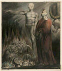 Photo/Poster - Lucifer And Pope In Hell King Of Babylon - William Blake 1757 182