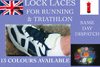 ELASTIC LACES WITH LOCKS - LOCK LACES FOR RUNNING AND TRIATHLON
