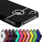 50X STYLISH CHROME HARD CASE COVER FITS FOR APPLE IPHONE 4 4S WHOLESALE JOB LOT