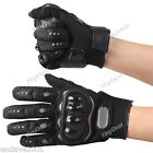 Motorcycle Bicycle Full Finger Gloves Motor Racing Nylon Finger Gloves L-Size