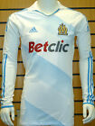 2011/2012 Olympique Marseille FC player issue l/s Techfit home shirt - L/XL