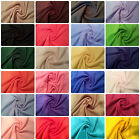 "Anti-Pil Polar Fleece Fabric 24 Plain Colours -59"" (150cm) wide - per metre/half"