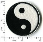 Embroidered Iron/Sew on patches TaiJi YinYang 4.8x4.8cm AP050aD