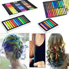 Hot 6 / 12 / 24 / 36 Colors Non-toxic Temporary Hair Chalk Dye Soft Pastels Salon Kit