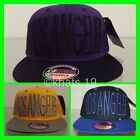 BRAND NEW FLAT PEAK VINTAGE LOS ANGELES SNAPBACK BASEBALL CAP WITH TAGS