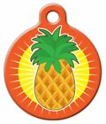 PINEAPPLE SUN - Custom Personalized Pet ID Tag for Dog and Cat Collars