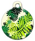 TIME IN THE GARDEN - Custom Personalized Pet ID Tag for Dog and Cat Collars