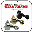 Wilkinson EZ lock Machine Heads for Strat Tele - Chrome Gold Black