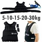 =5,10,15,20,30kg BODYRIP DELUXE WEIGHTED WEIGHT VEST TRAINING EXERCISE SPORT=
