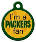 PACKERS FAN - Custom Personalized Pet ID Tag for Dog and Cat Collars