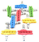 V Brake Pads / Blocks x 4 for Mountain bikes (4 Colour options)