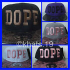 BRAND NEW FLAT PEAK DOPE SNAKESKIN BASEBALL CAP WITH TAGS AND STICKERS