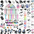 Duat Cap/Stylus/Headset/USB Cable/Charger/Holder For Samsung Galaxy S4 IV i9500