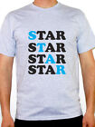STAR - Super / Great / Astronomy / Brilliant / Humorous Themed Mens T-Shirt