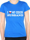 I LOVE MY CZECH HUSBAND - Czech Republic / Europe / Fun Themed Womens T-Shirt