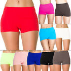 New Womens Ladies High Waist BOXER SHORTS Pants Underwear Plus Size 16 18 20 22
