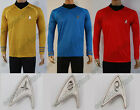 Star Trek Into Darkness Starfleet Captain Kirk Costume Tunic Shirt Uniform