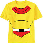 Mighty Mouse Costume Man Or Mouse New Licensed Adult T-Shirt S-2XL