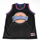 MICHAEL JORDAN TUNE SQUAD SPACE JAM MOVIE JERSEY BLACK NEW ANY SIZE XS - 5XL