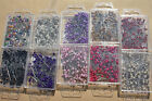100 PEARL HEADED PINS BRIDAL CRAFT WEDDING NEW FREE P&P RANGE OF COLOURS