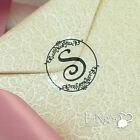 90/270pcs Black Monogram Initial Wedding Invitation Envelope Seal Sticker Decor