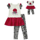 """Dollie & Me 7 10 gril & 18"""" doll matching outfit fit american girl birthday"""