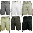 MENS SHORTS COMBAT CARGO VINTAGE COTTON MILITARY STYLE SUMMER CASUAL FASHION NEW