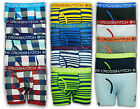 MENS BOXERS CROSSHATCH UNDERWEAR SHORTS PLAIN STRIPES CHECK TRUNKS NOVELTY NEW