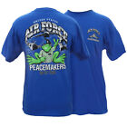 Peace Frogs US AirForce T-Shirt 100% Cotton
