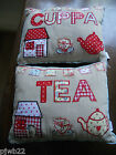 Assorted Cushions Home, Friends, Cuppa or Tea One design Only