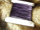 Purple waxed cotton cord/thong/string 1 mm x  30m*90m Findings Jewellry Making