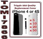 iPhone 4 4G 4S Back glass Rear Battery Cover Case Replacement with  free tool