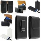 Pouch PU Leather Belt Clip Holster Case Cover for Samsung Galaxy S4 S IV i9500