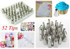 NEW Icing Piping Nozzles Cupcake Tip Bag Fondant Cake Sugarcraft Decorating Tool