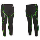 mens womens SKIN Compression Tights sport running full length pants S~2XL